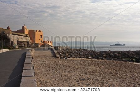 View Of S. Joao Das Maias Fortress
