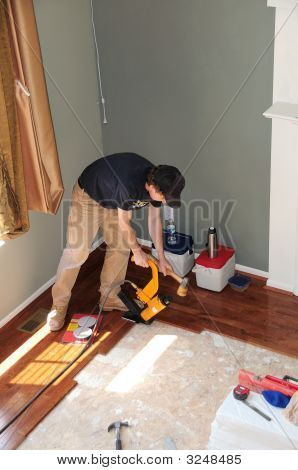 Installing A Hardwood Floor - Construction