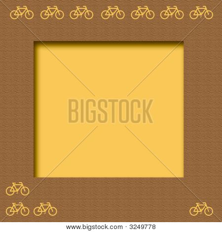Yellow Bicycle Frame
