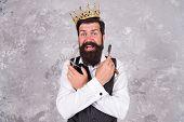 Barber Shop. Barber Tools. Barber Hold Hairdresser Equipment Blade And Scissors. Taking Care Facial  poster