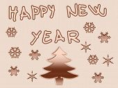 Happy New Year Background poster