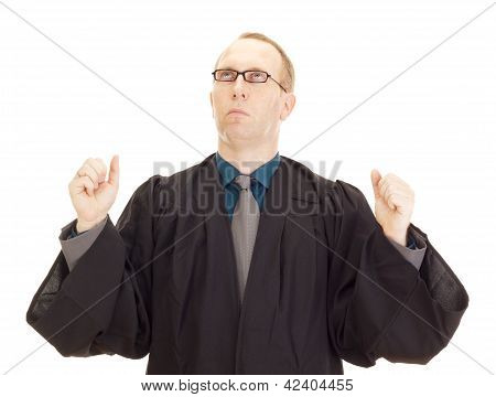 A Jurist In His Black Robe