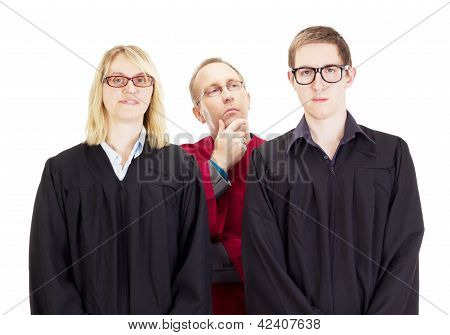 Three Jurists