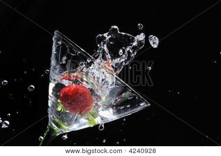 Strawberry Martini Splash