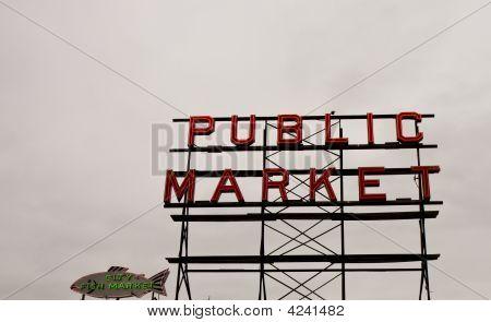 Openbare vismarkt