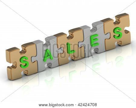 Sales Word Of Gold Puzzle