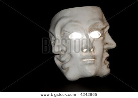 A Mask With Three Faces