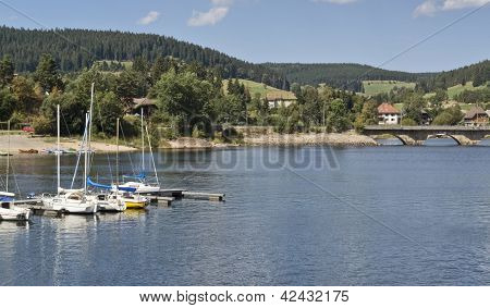 Schluchsee In Sunny Ambiance