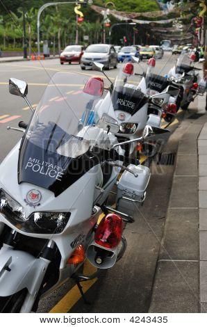 Military Police Motorbikes