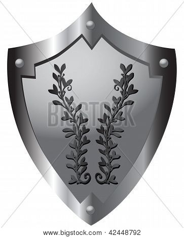 Shield With Ornament