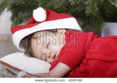 Santa dormindo