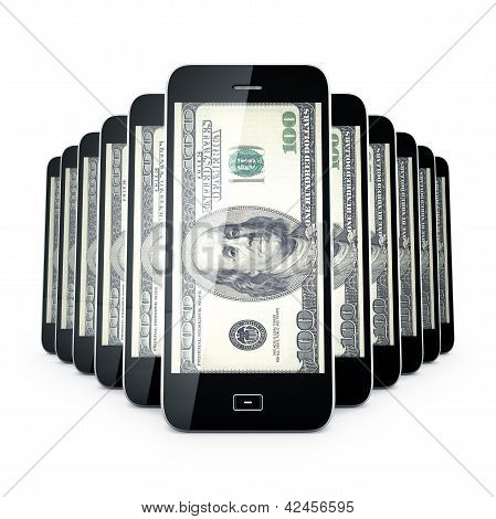 Mobile Phone Dollas.