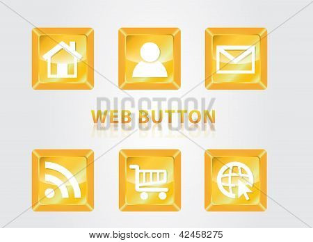 web buttom set