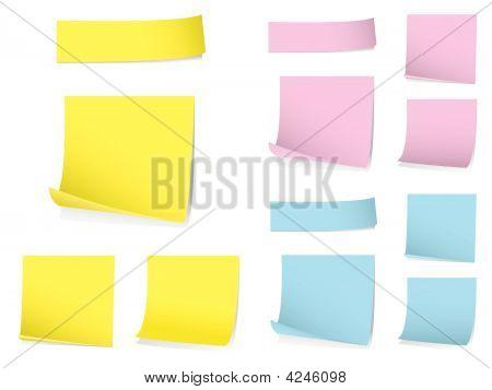 Memo Notes Set