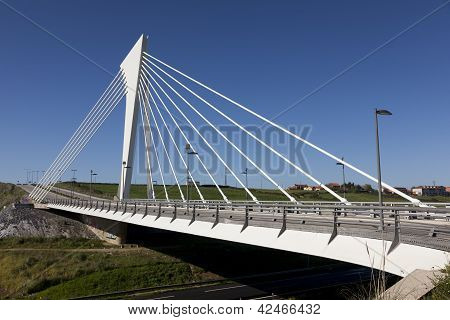 Bridge Of Technological Park, Santander, Cantabria, Spain
