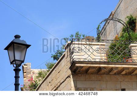 Balcony, Italy