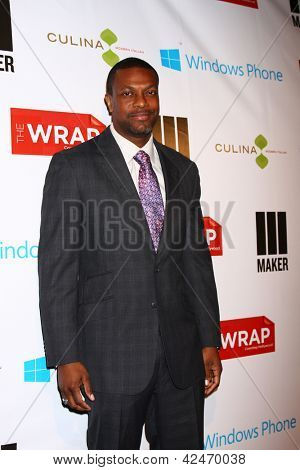 LOS ANGELES - FEB 20:  Chris Tucker arrives at The Wrap Pre-Oscar Event at the Culina at the Four Seasons Hotel on February 20, 2013 in Los Angeles, CA