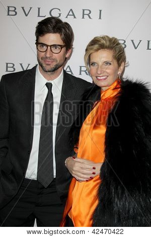 LOS ANGELES - FEB 19:  Gale Harold, Sabina Belli arrive at the BVLGARI Celebrates Elizabeth Taylor's Jewelry Collection at the BVLGARI on February 19, 2013 in Beverly Hills, CA