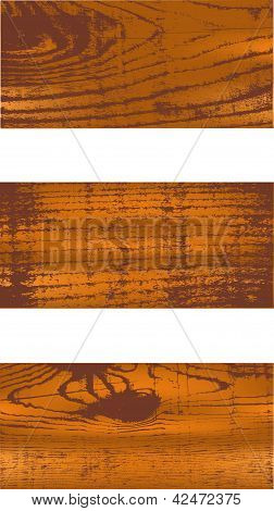 Wood vector pattern