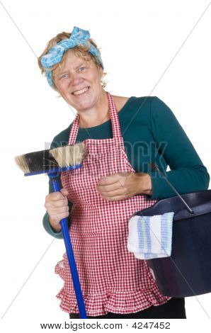 Friendly Typical House Wife