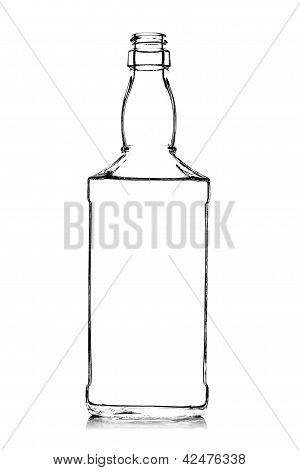 Alcohol Bottle Contour