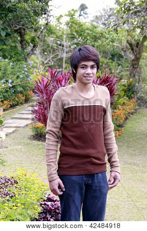A Filipino Teen
