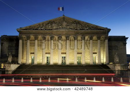National Assembly, Paris, France