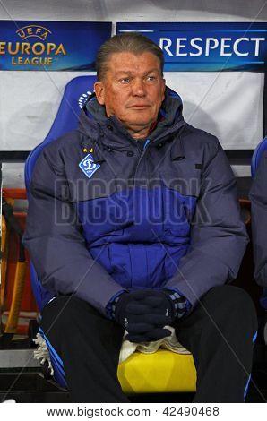 Fc Dynamo Kyiv Manager Oleh Blokhin