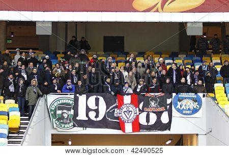 Fc Girondins De Bordeaux Fans Support Their Team