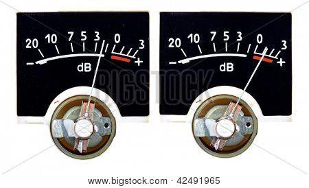 Analog VU Meter