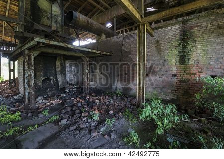 Old, Abandoned Brickyard In Poland, Pomerania Area