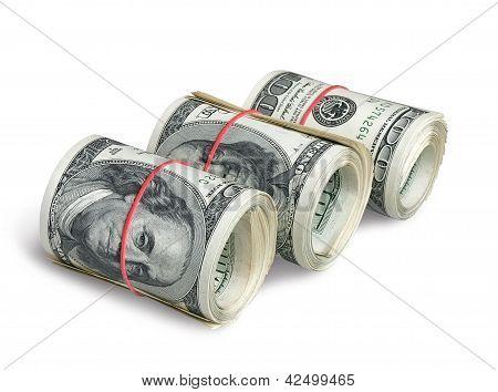 A rolls of dollars