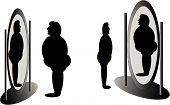 picture of peer-pressure  - Mirrors that tell all about what we look like or not - JPG