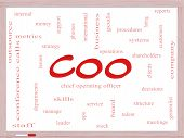 Coo Word Cloud Concept On A Dry Erase Board