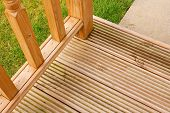 Garden Decking do canto