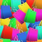 Shopper Seamless Pattern