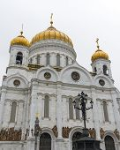 Russia. Cathedral Of Christ The Savior.