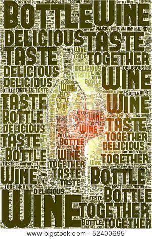 An image of nice Wine text cloud