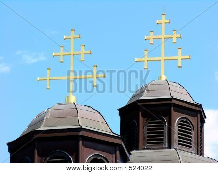 Ukrainian Catholic Church Roof