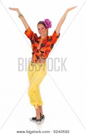 Woman Summer Flower