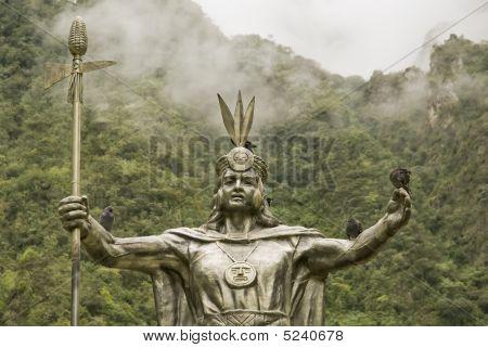 Inca God By Machu Picchu