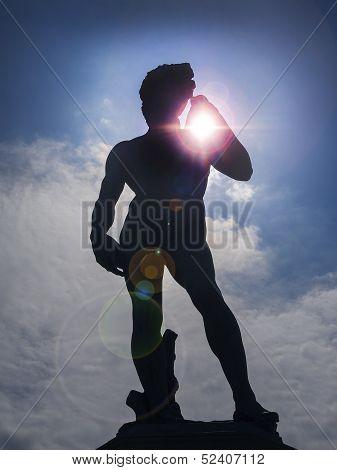 Michelangelo's David sculpture