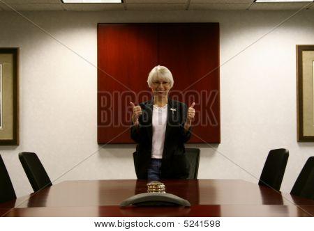 Sala de reuniões de polegares