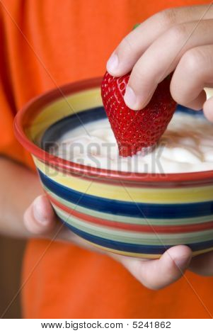 Dip de morango