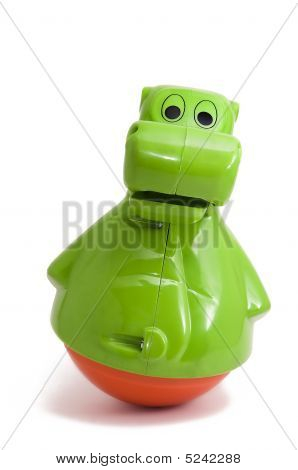 Bouncing Baby Toy - Hippo