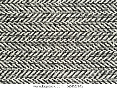Closeup Of Wool Fabric