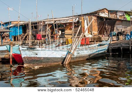 Old Harbour and fish market Sunda Kelapa, Jakarta