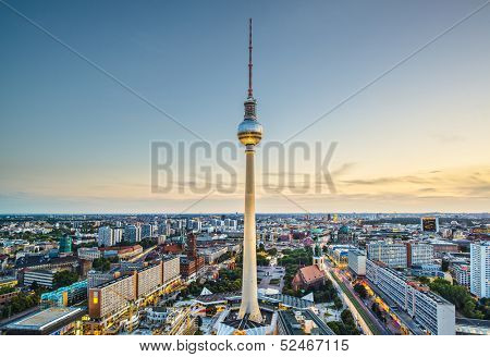 Berlin, Germany view.
