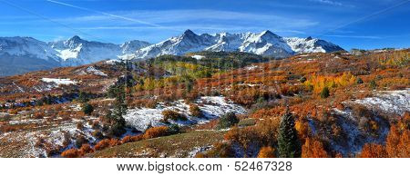 San Juan mountains panoramic view