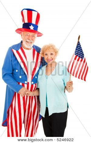 Uncle Sam And Friend